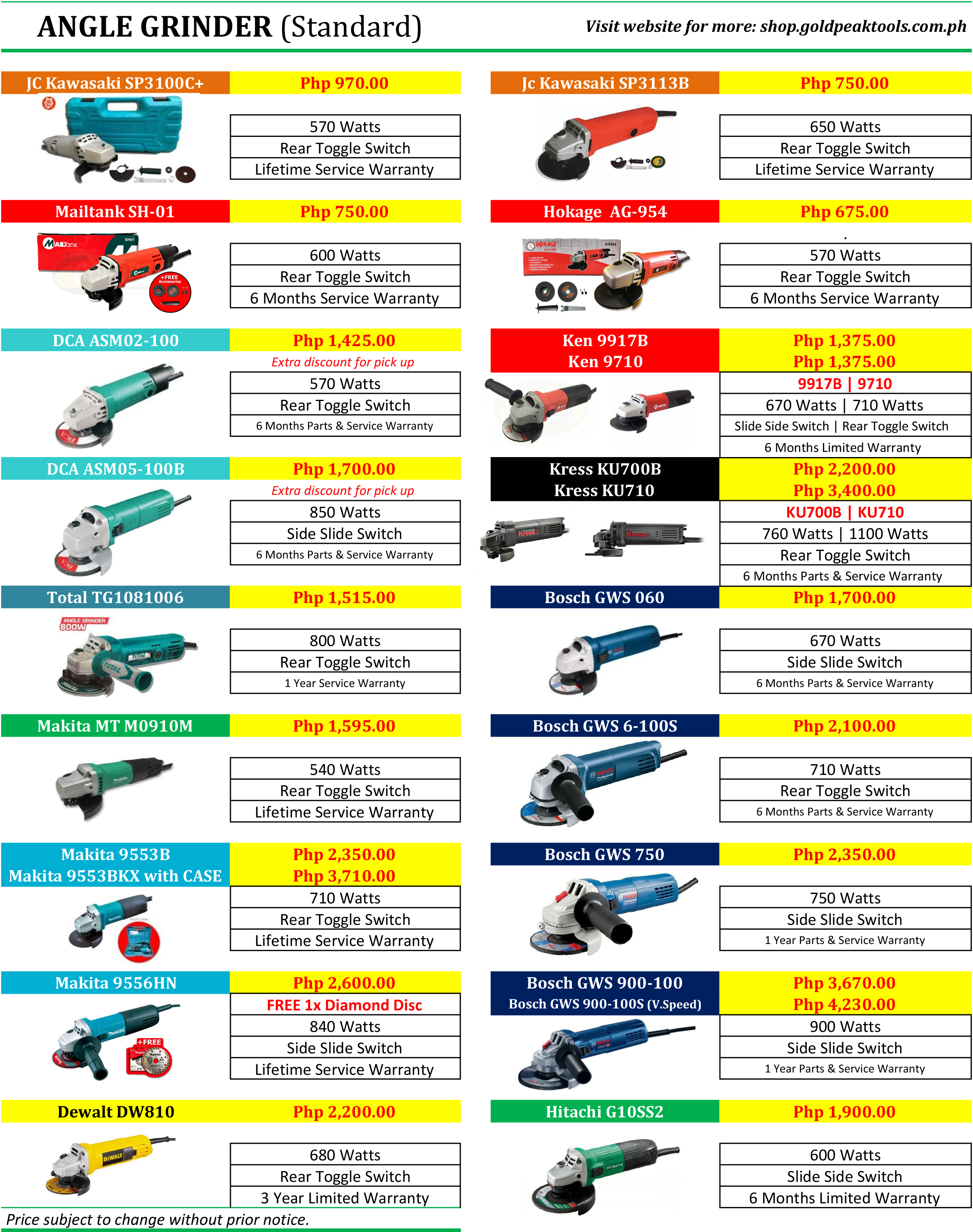 75a7e73febad6 Promos by Goldpeak Tools PH